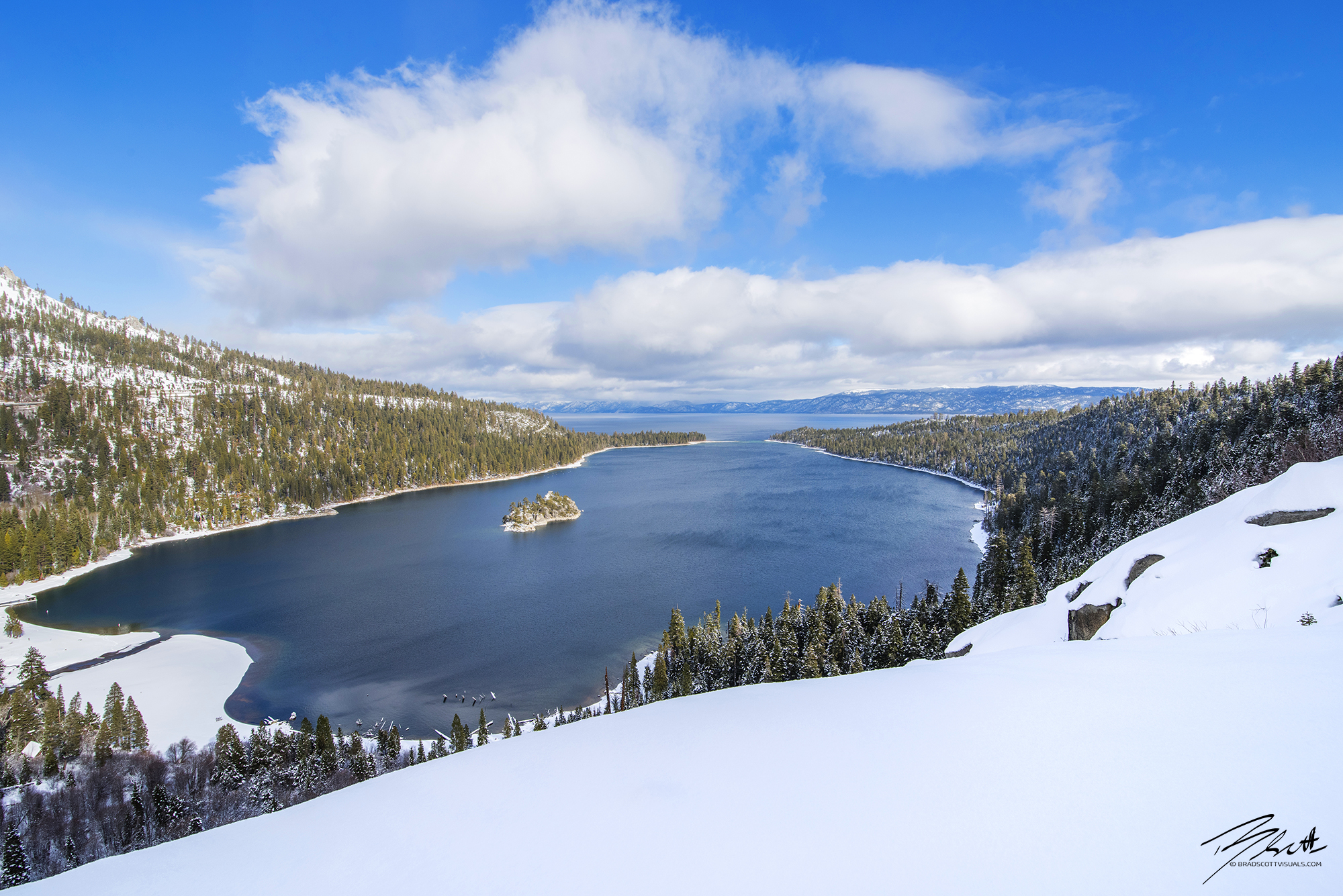 Emerald Bay Slopes - Lake Tahoe