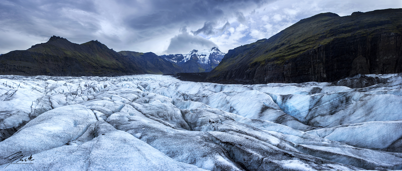 Svínafellsjökull Glacier Panorama