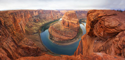 horseshoe bend panorama 2 enhanced with punch