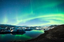 Frozen Auroras