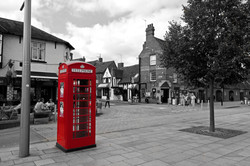 telephone box in stratford