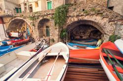 riomaggiore boats