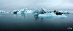 Jokulsarlon Glacier Lagoon Panoramic