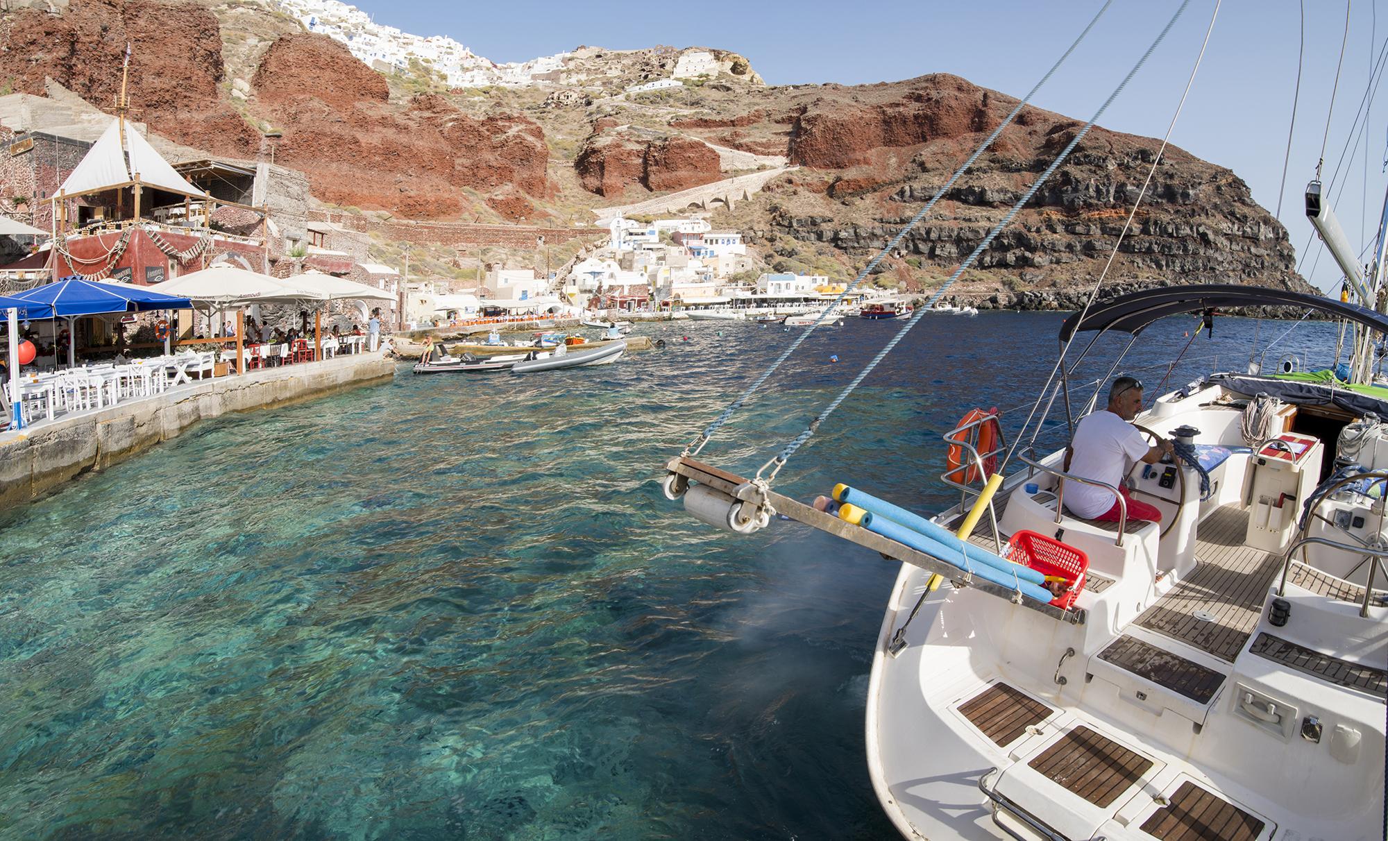 ammoundi bay sailboat