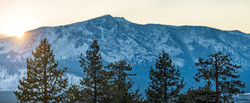 tallac sunset pano color