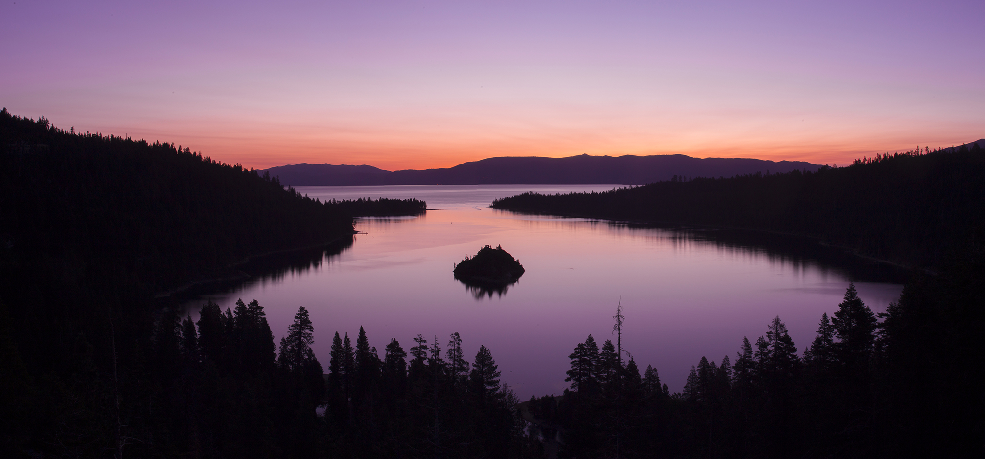 Emerald Bay Sunrise Warm