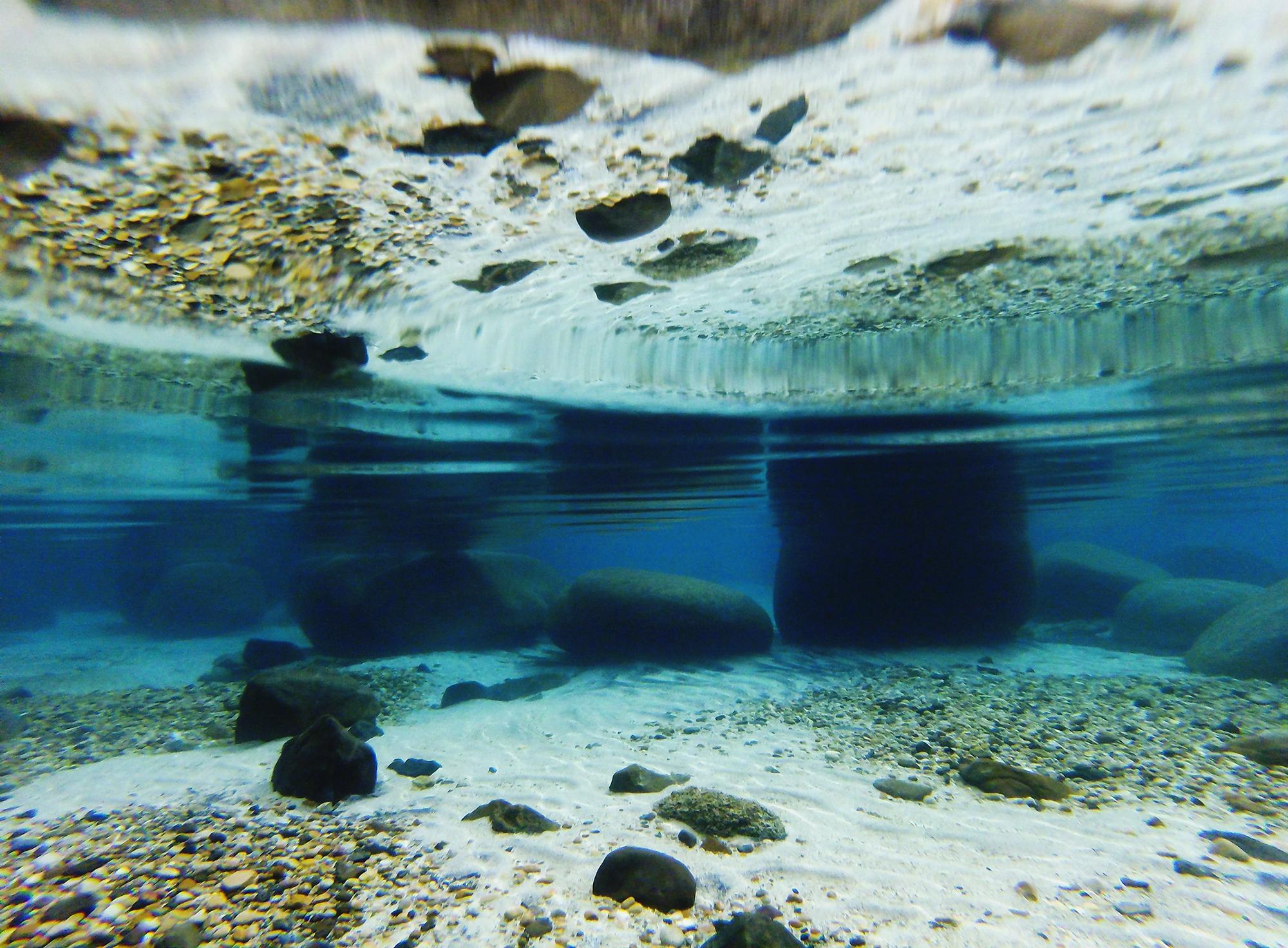 secret cove underwater gopro session