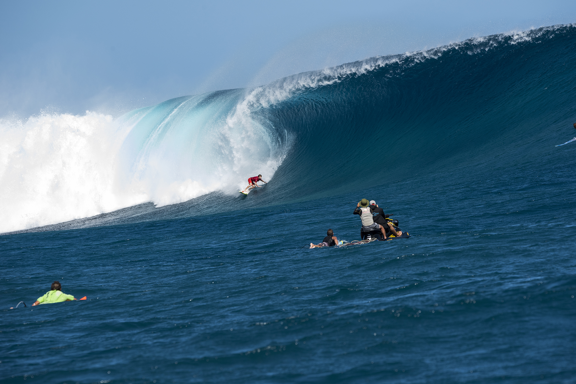Mark Healy second wave