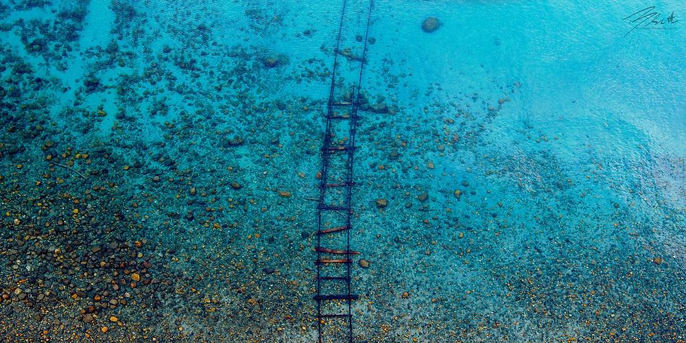 Tahoe Tracks, Lake Tahoe Drone Photography by Brad Scott