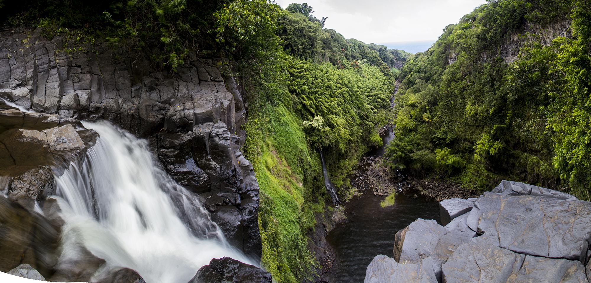 Lower waimoku falls lookout