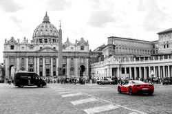 Ferrari at the vatican color corrected