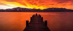 lindsey nevada beach pier sunset pano color correct