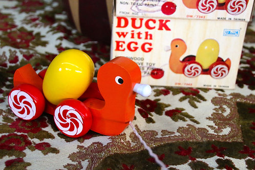 Trek eendje met ei!