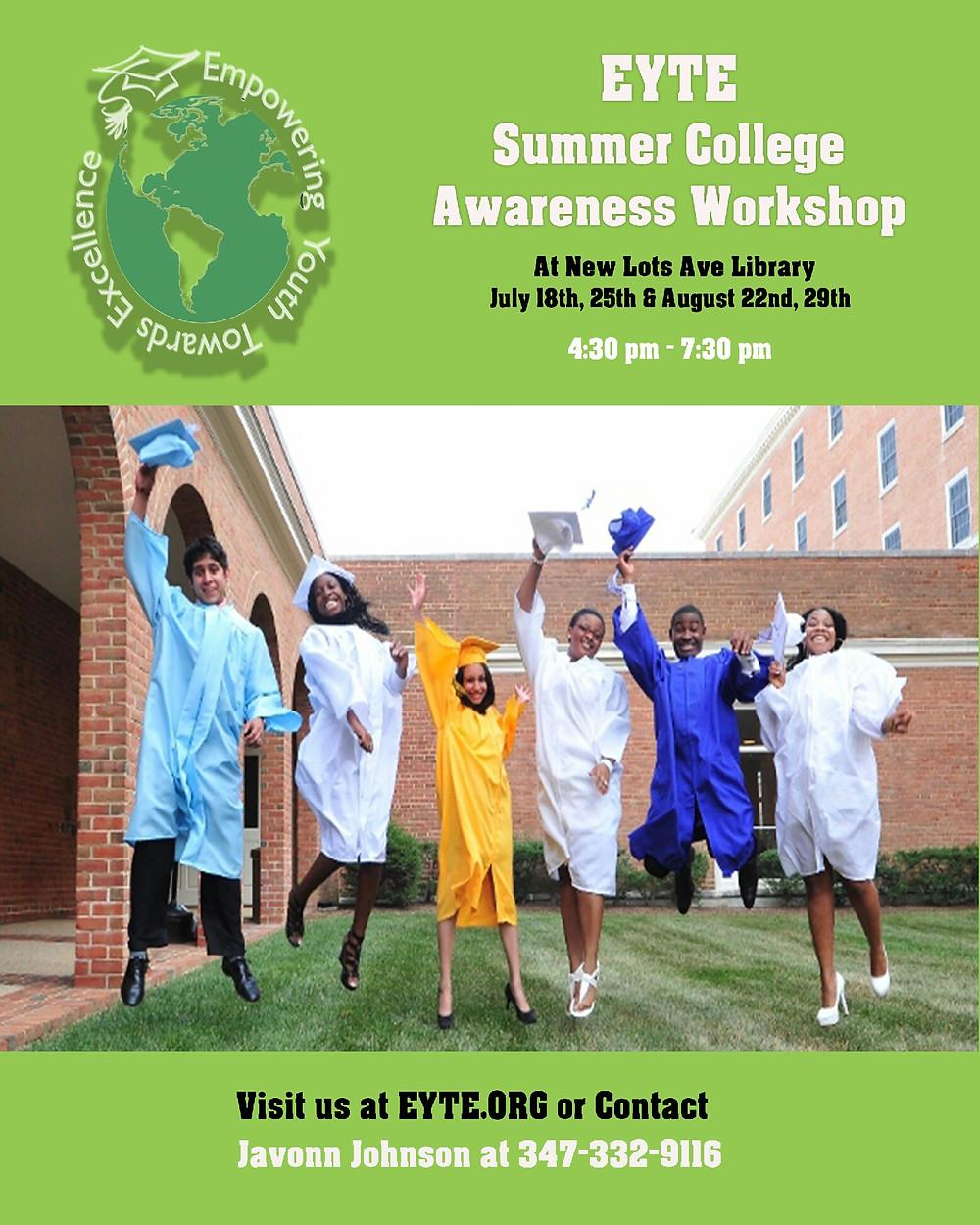 summer college workshop
