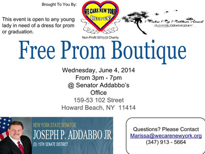 Free Prom Boutique Wed. June 4th