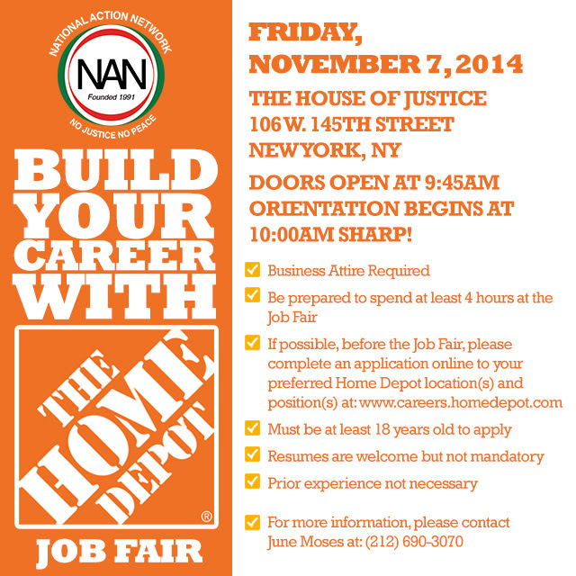 Home Depot Job Fair Empowering Youth Towards Excellence
