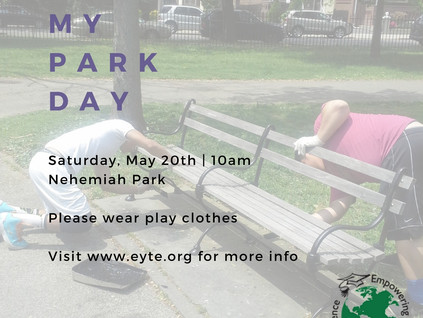 IT'S MY PARK DAY!
