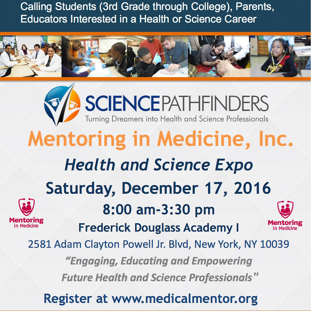 Health and Science Expo in Harlem