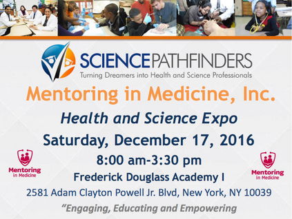 Mentoring in Medicine Health and Science Expo