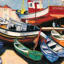 Sesimbra Fishing Boats