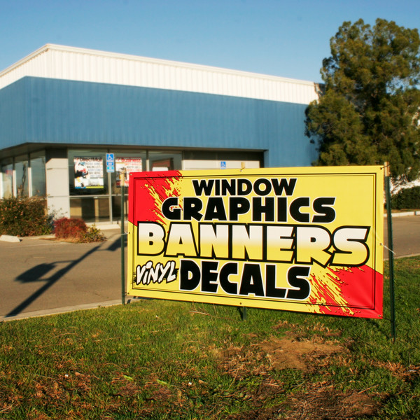 Mosaic can print any size, image, color vinyl banner-printing