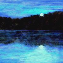 Moon Over Taunton Lake