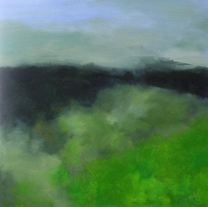 Provence Misty Morning