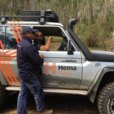 Touring with Hema Maps