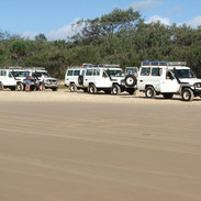 Sand driving course with Australian Offroad Academy
