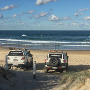 Relaxing after sand driving with AORA