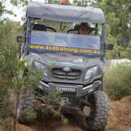 Side by side 4x4 offroad training with AORA
