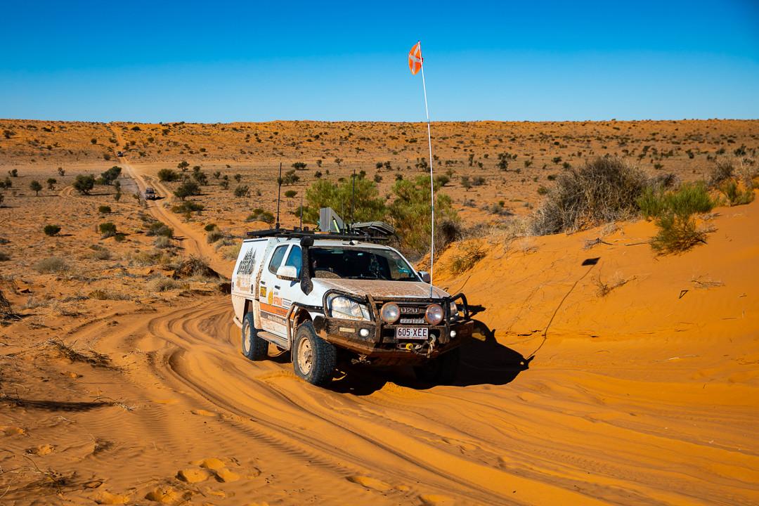 Desert driving AORA
