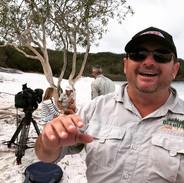 Dingo Dave at Fraser Island