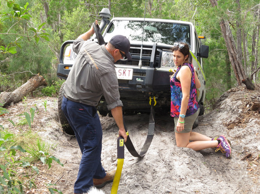Learning 4x4 vehicle recovery!