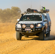 Remote driving in outback Australia