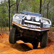 TJM equipped Toyota 4x4