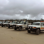 Sand driving course with the Australian Offroad Academy