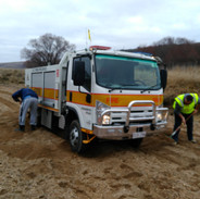 Learning how to recover a bogged truck
