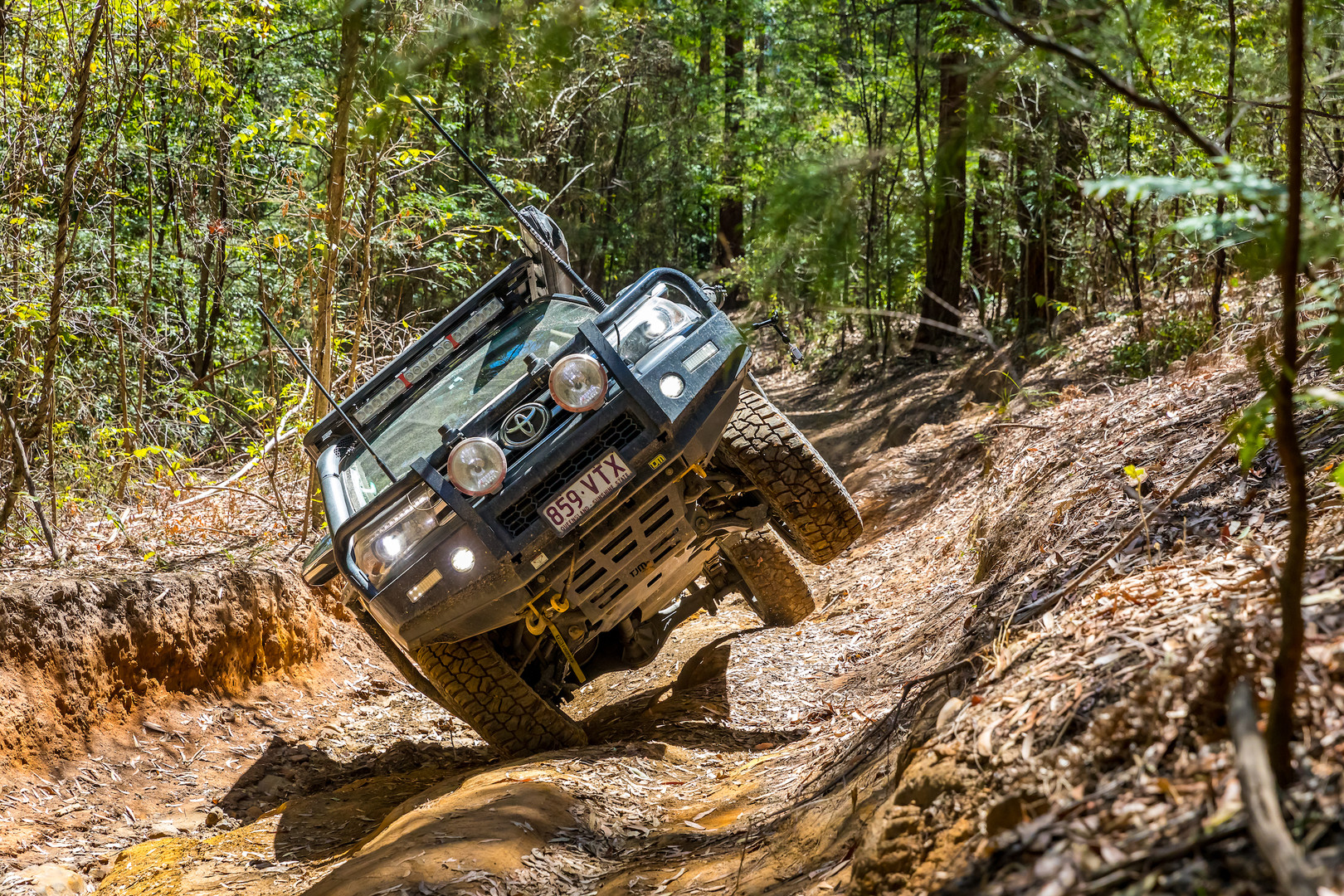 Offroad driving in the Watagans