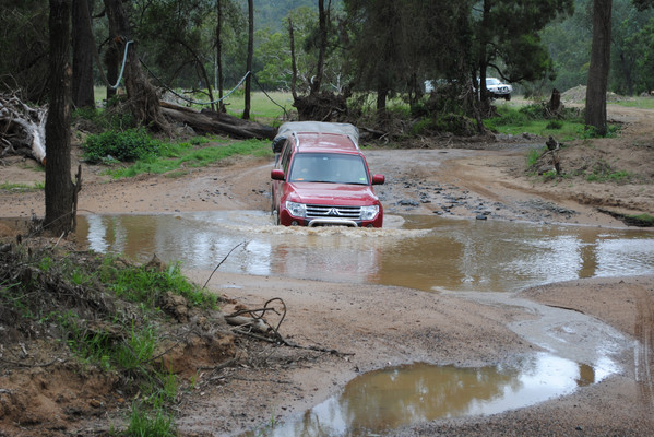 Camper Trailer Course with AORA - River Crossing