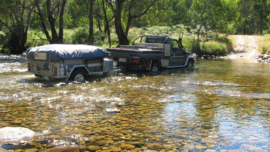 River crossing at Johnnos creek