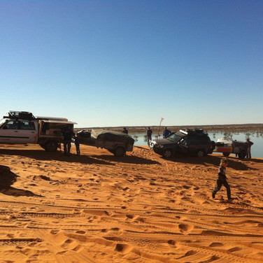 4x4 offroad driving on Big Red