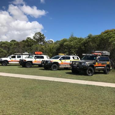 Australian Offroad Academy's Fleet