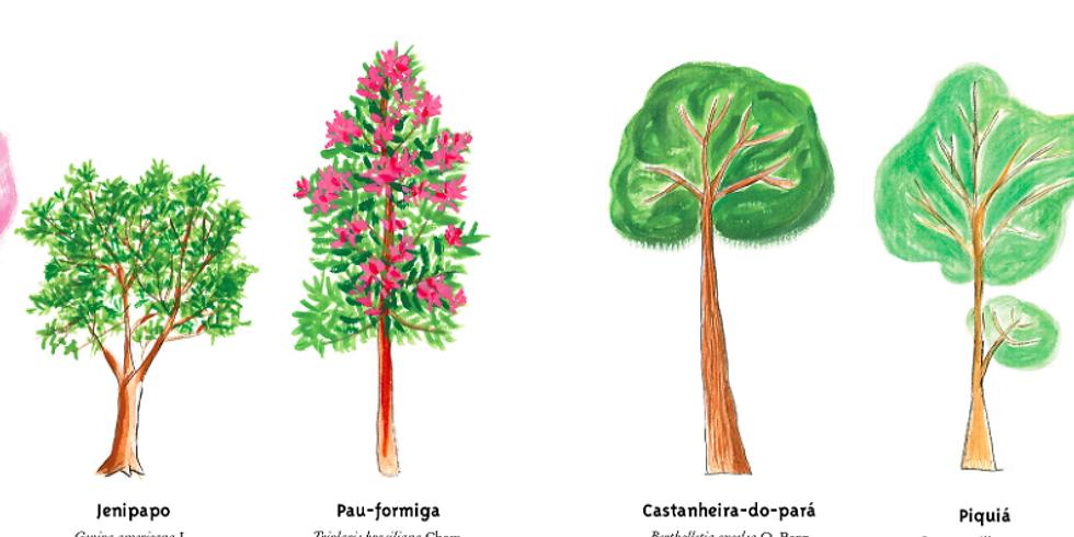 Ateliê Árvores do Brasil - Cada poema no seu galho