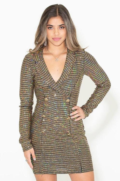 Business bling dress