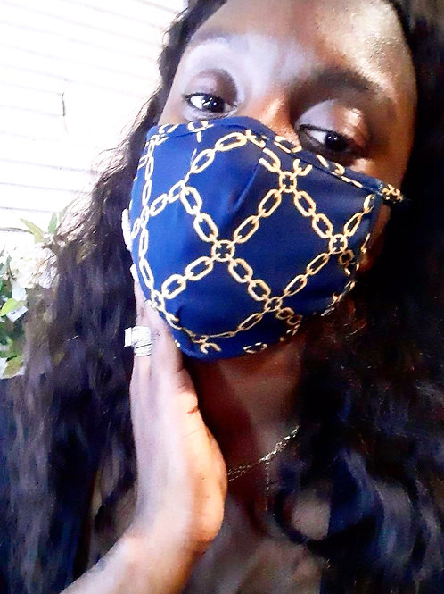 Chain link mask