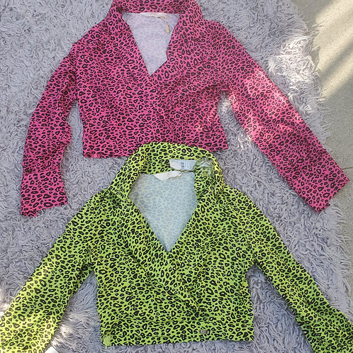 80 chic top green