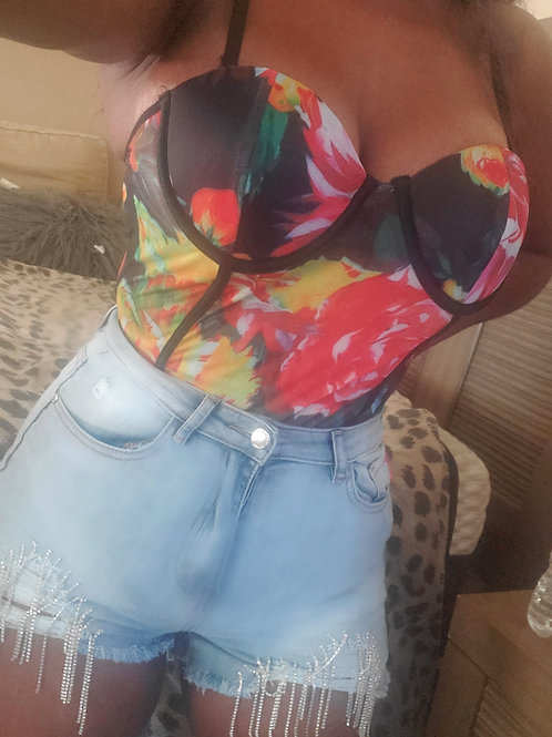 Showgirl shorts