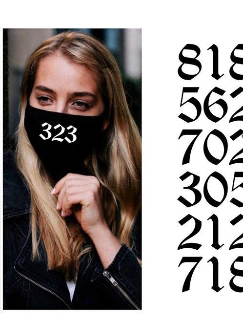 Area code mask