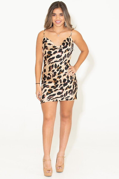 Cheetah girl dress
